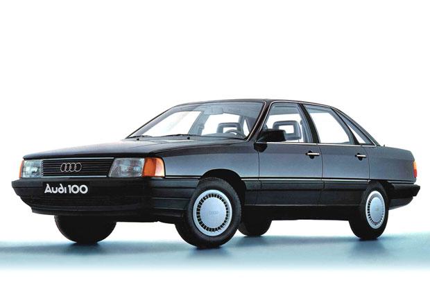 Seri�l: Evropsk� Automobily roku. Audi 100 C3 (1983): U� tehdy jako hybrid!