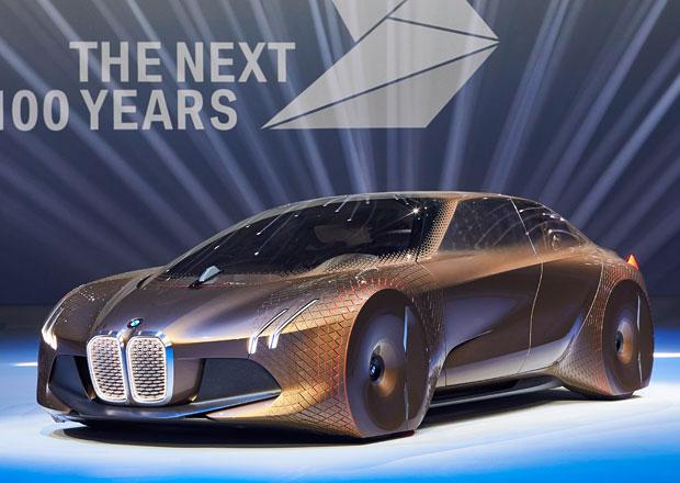 BMW Vision Next 100: Autonomní vůz pro radost z jízdy jako dárek k výročí