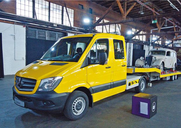 Mercedes-Benz LUV nástavby: Také Češi