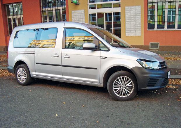 Volkswagen Caddy Maxi 2.0 TDI Trendline Euro 6: Pro pohodu