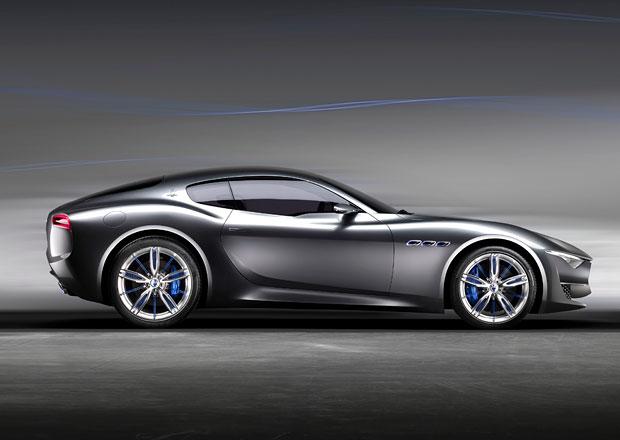 Maserati Alfieri se odkl�d�, p�ednost m� i g�t��ko