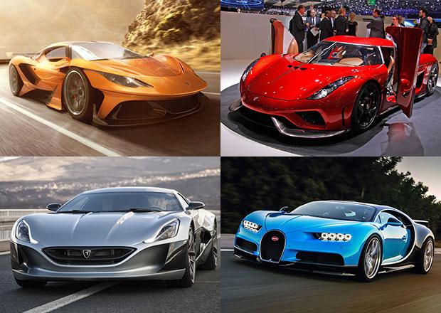 Nejsilnější auta dneška: Rovných 1000 koní a víc jako standard