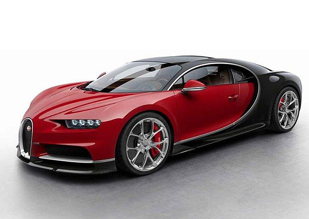 Bugatti Chiron: Osm barevn�ch sch�mat je jen z�klad