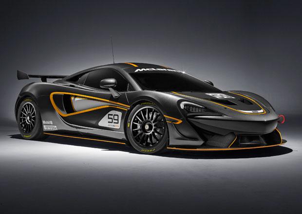 McLaren 570S GT4 odhalen a 570S Sprint potvrzen