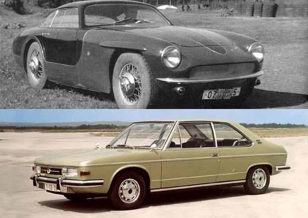 Nezn�m� prototypy Tatra: Raritn� kup� z Kop�ivnice