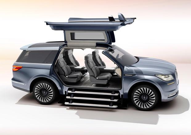 Lincoln Navigator Concept: Pokračování ve velkém stylu