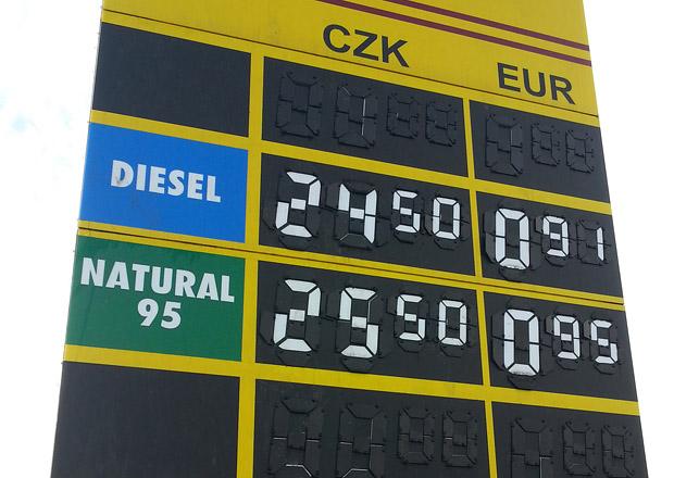 Ceny paliv v Česku: Dokdy zůstaneme pod třiceti?