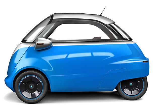 Isetta je zp�tky! Jako elektromobil od v�robce kolob�ek.