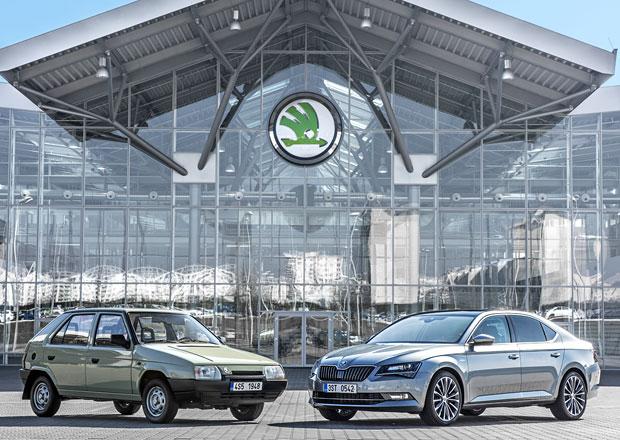 Škoda slaví 25 let pod VW, z malého výrobce se stal globální hráč