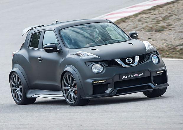 Nissan Juke-R 2.0: První opravdové jízdní dojmy