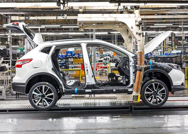 Nissan v Sunderlandu zvýší výrobu Qashqaie