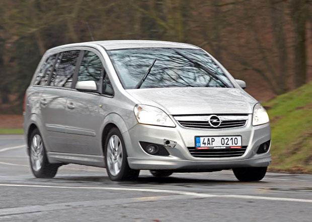 """Ojetý Opel Zafira B (2005 - 2014): Ještě více """"Flex"""""""