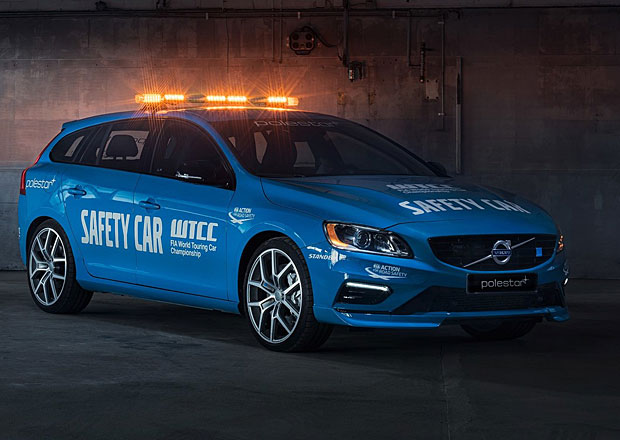Volvo V60 Polestar: WTCC má nový safety car