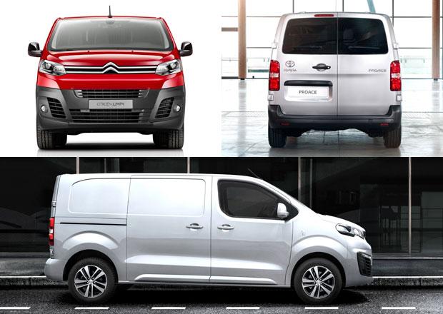 Citroën Jumpy, Peugeot Expert a Toyota Proace Van: Nová generace (+video)