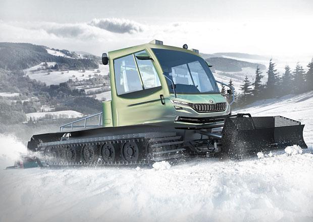 ��dn� SUV! �koda Snowman je plug-in hybridn� rolba za 7,6 milionu korun