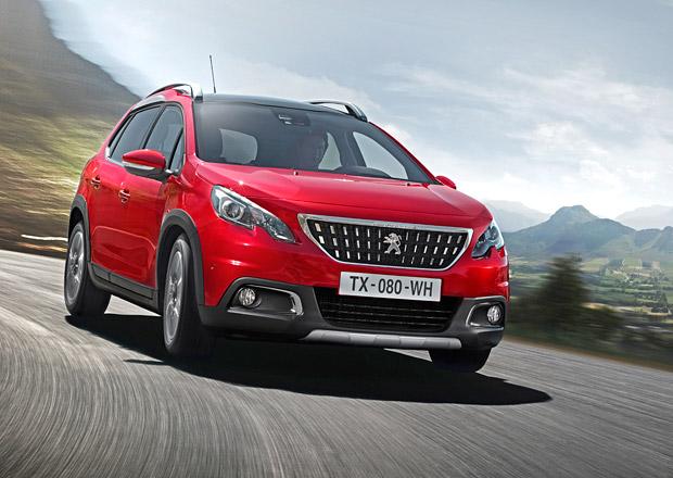 Modernizovaný Peugeot 2008 má český ceník, přibyla verze GT line