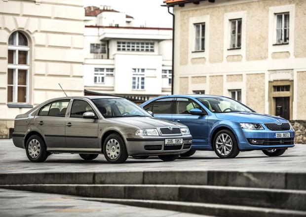 Škoda Octavia: Kus auta navíc nabídl okřídlený šíp poprvé před 20 lety