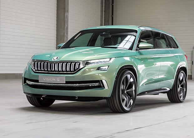 �koda VisionS: Jeli jsme v konceptu velk�ho SUV za 70 milion� korun