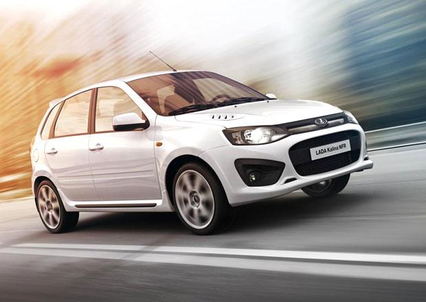 Lada Kalina NFR: Tovární ruské GTI má 100 kW
