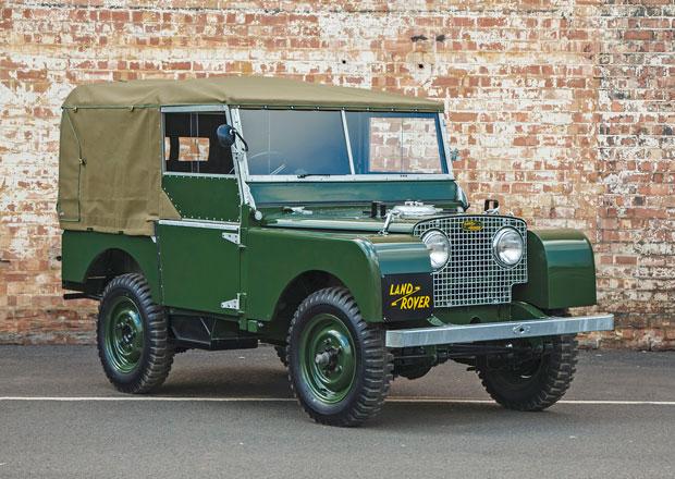 Land Rover Classic o�iv� prvn� s�rii legend�rtn�ho off-roadu