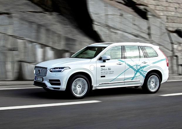 Volvo vypustí 100 autonomních vozů na čínské silnice