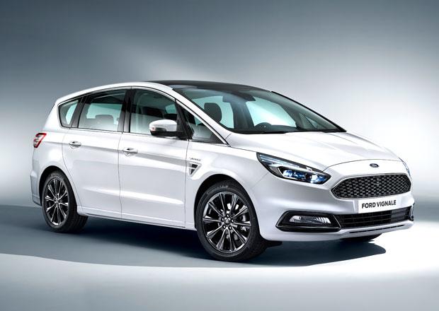 Ford S-Max Vignale: Luxusní MPV pořídíte za 1,15 milionu Kč