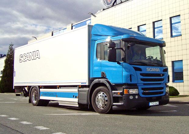 Scania P280 CNG: Plynová výhoda