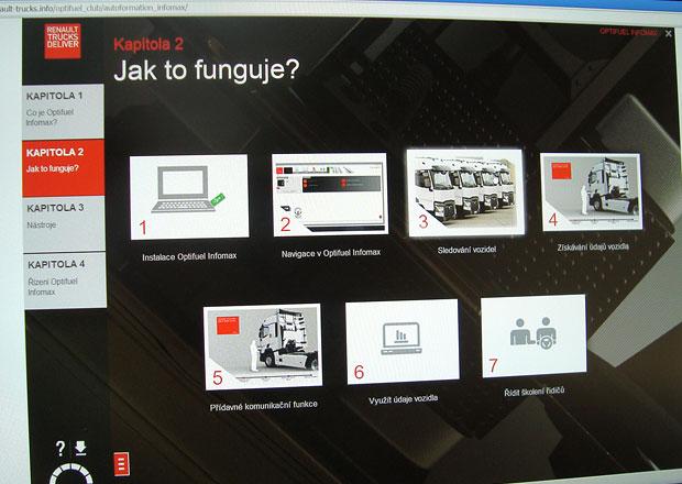 Renault Trucks Infomax: E-learning
