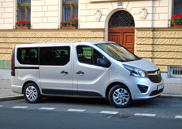 Opel Vivaro Kombi 1.6 CDTI Business Edition: Na úrovni