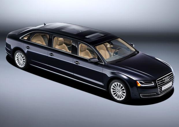 Audi A8 L extended: Ještě delší sedan s šesti místy a šesti metry