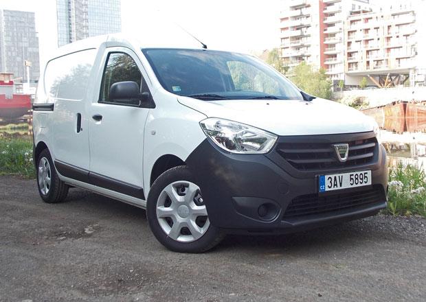 Dacia Dokker Van 1.5 DCI/66 kW: Tři plus tři