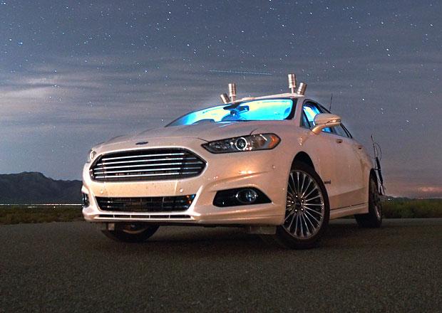 Ford Nightonomy: Autonomní jízda v noci není problém (+video)