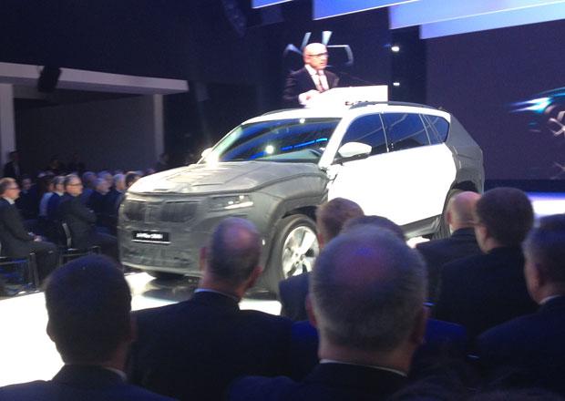 Sériová Škoda Kodiaq se ukázala veřejnosti. Zatím s maskováním