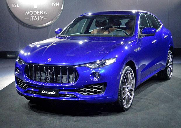 Maserati Levante vstoupilo na český trh, nejlevnější verzi pohání turbodiesel