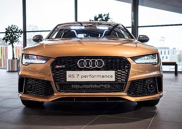 Audi RS 7 Performance Exclusive: S p��chut� drah�ho ko�aku