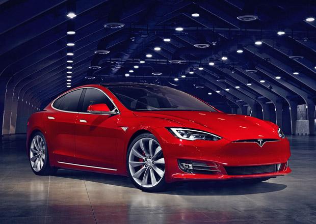 Tesla Model S nastupuje v lehce omlazené podobě