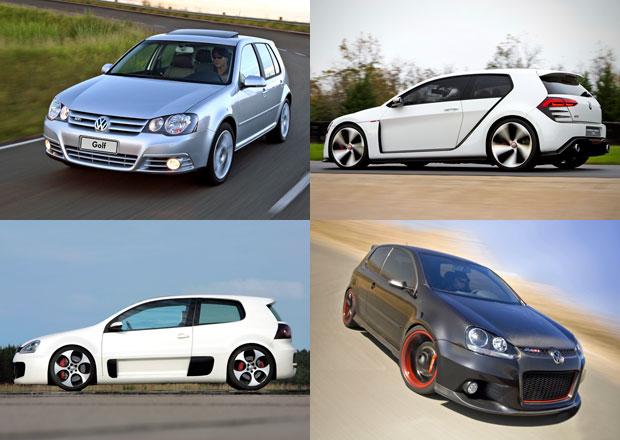 VW Golf GTI slav� 40 let: P�ipome�te si jeho unik�tn� verze
