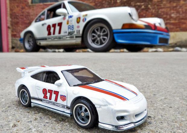 Hot Wheels a Magnus Walker uvádějí modely Porsche