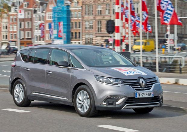 Autonomní Renault Espace představen v Amsterdamu