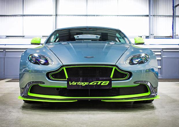 Aston Martin Vantage GT8: Kila dol� a kon� nahoru (+video)