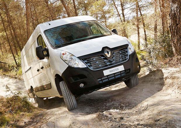 Renault Master 4x4 a X-Track pro Kangoo, Trafic i Master