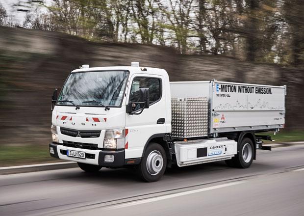 Fuso Canter E-Cell ve službách Stuttgartu a společnosti Hermes