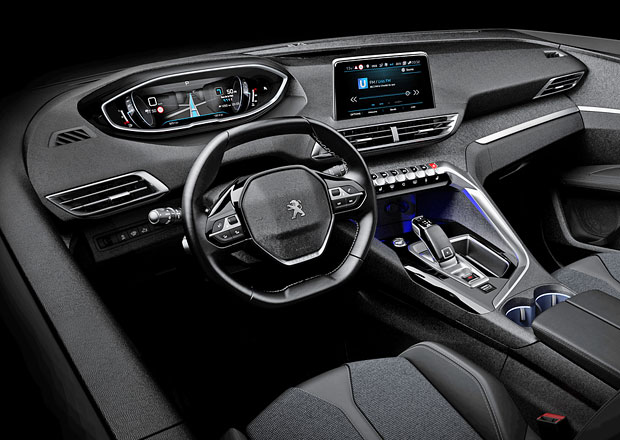 Nov peugeot i cockpit ochutnali jsme 3008 for Interieur 3008