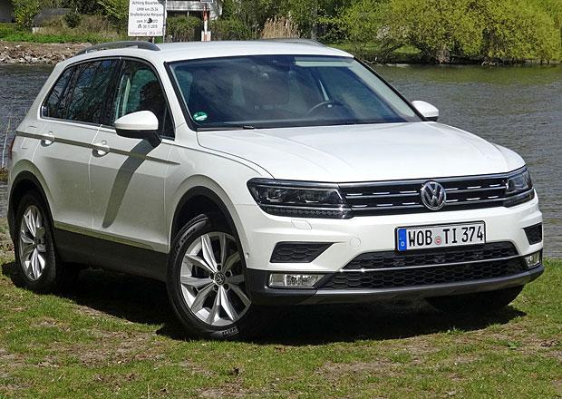 Testujeme nový Volkswagen Tiguan. Je to takový Touran do terénu