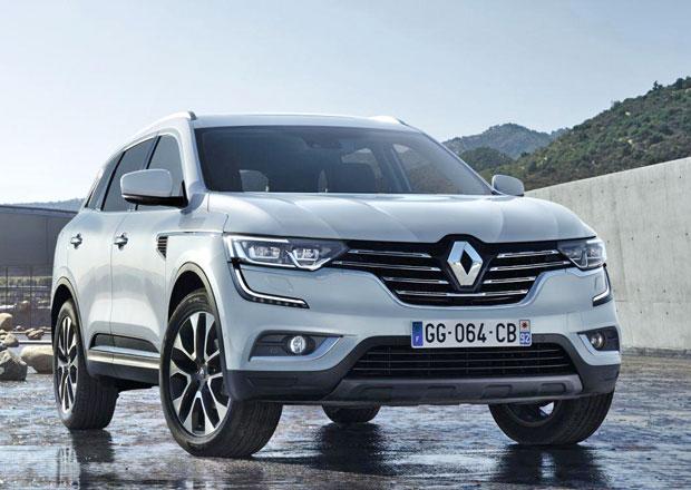 Nov� Renault Koleos odhalen na prvn� fotografii