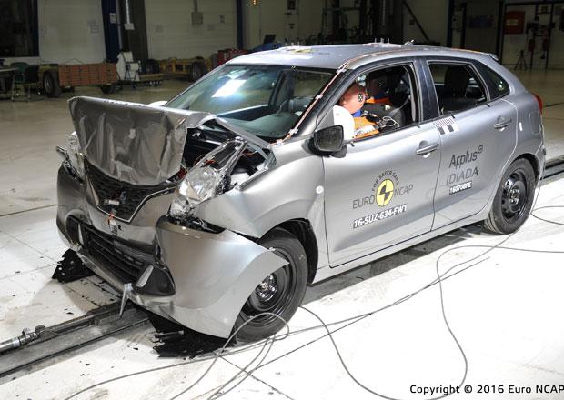 Euro NCAP 2016: Suzuki Baleno – Dva výsledky dle výbavy