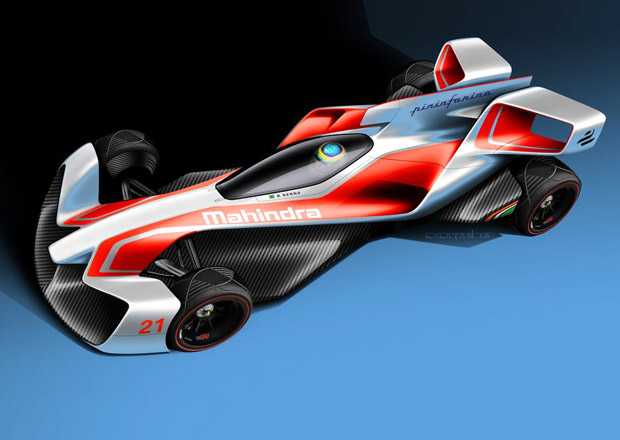 Mahindra s Pininfarinou míří do elektrické závodní budoucnosti