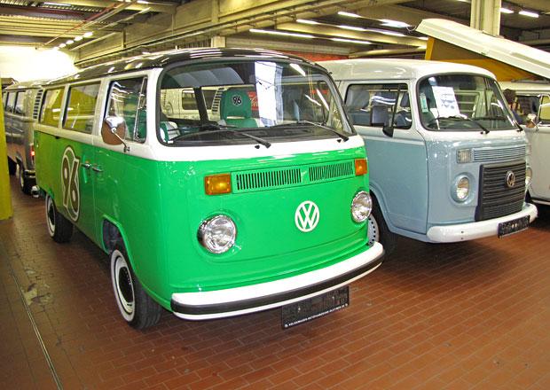 VW Užitkové vozy Oldtimer: Speciál Porsche i typický hippie bus (reportáž)