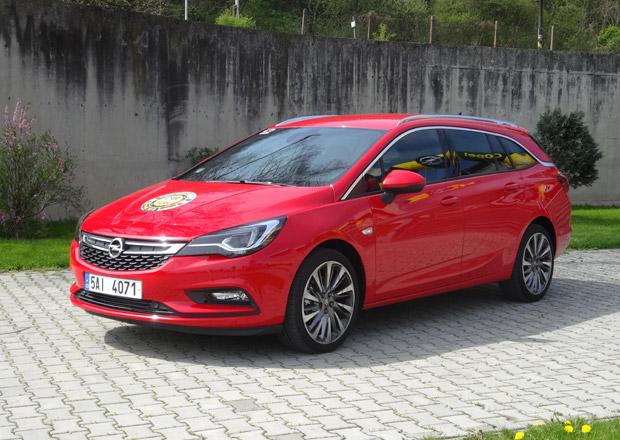 Nový Opel Astra ST vstoupil na český trh. Komfort je jeho hlavní předností