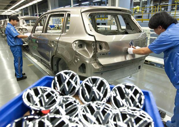 Volkswagen chce s partnery investovat v Číně čtyři miliardy eur